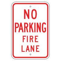 No Parking Fire Lane