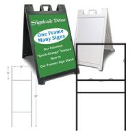 Sign Frames & Stakes