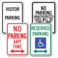 Parking & Traffic Signs (All)